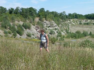 Jaqueline auf der Jagd