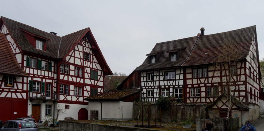 Riegelhäuser in Marthalen (Photo: Stefan Vogel)